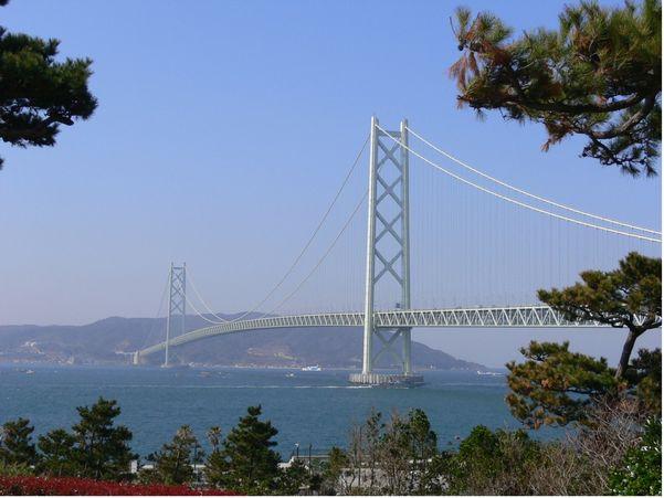 明石海峡大橋(舞子ヴィラより)